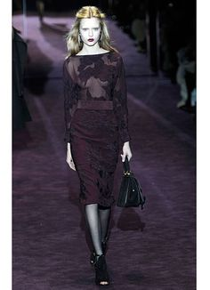 Gucci: I love the strategically placed camouflage on this dress.