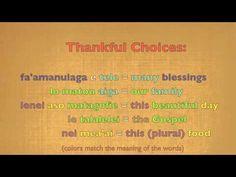 Samoan Language 101-D, How to Pray