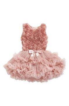 Popatu Ribbon Rosette Pettidress (Baby Girls)