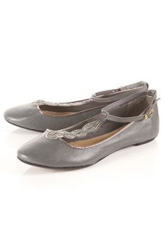 Not your typically boring grey flats