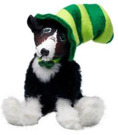 "St Patrick's Day Irish Border Collie Dog 6"" Display Leprechaun"