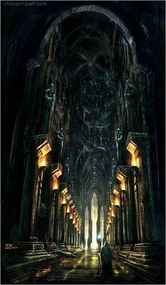 Y ahora que avanzaste de nivel, mereces entrar al palacio… arte: ZhouPeng