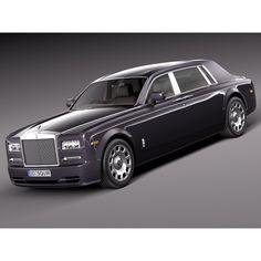 Rolls-Royce Phantom LWB 2013 - 3D Model