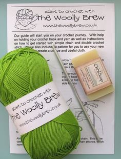 The Woolly Brew: start to crochet kit