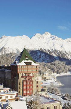 Badrutt's Palace Hotel, St. Moritz: