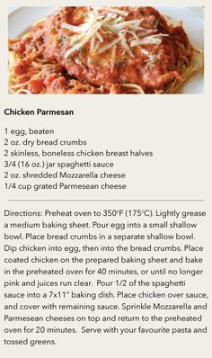 Chicken Parmesan Verdict: time consuming but tasty