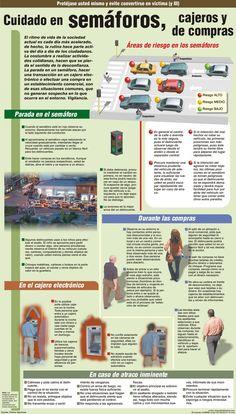 Tips de #seguridad urbana