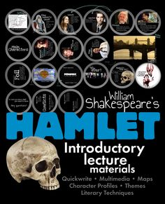 Grab every eye in the room with this gorgeous 38-slide Prezi that provides all of the background information your class will need as you launch your study of Hamlet, William Shakespeare's classic tragedy. #Hamlet