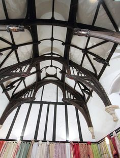 Our new store is in the beautiful, grade 1 listed, Medieval Hall. Built in 1420, as part of the Canon's residence, its has its original Medieval ceiling and a view out to the Cathedral. The building has been many things over the years including a law library and more recently 'Hub on the Green', and now we are delighted to announce that it is our new Exeter home!
