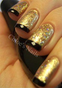 Chloe's Nails: Golden Fingers