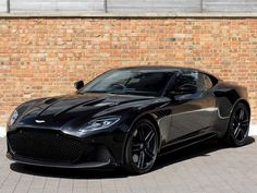 Romans are pleased to offer this Aston Martin Dbs Superleggera for sale presented in Onyx Black with Obsidian Black Leather. Luxury Sports Cars, Best Luxury Cars, Sport Cars, Aston Martin Sports Car, Used Aston Martin, Aston Martin Lagonda, Blacked Out Cars, Subaru, Black Audi