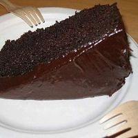 Super Moist Chocolate Cake - just need to add another half a cup of sugar to it and you're good