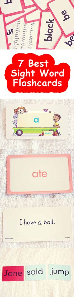 7 Best Sight Word flashcards you can buy your child Sight Word Flashcards, First Grade Sight Words, Pre Kindergarten, Child, Sayings, Boys, Lyrics, Kid, Word Of Wisdom