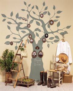 arbre-genealogique-peinture-mur Marie-Claire-idees