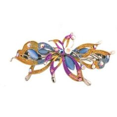 Caravan Butterfly Flying Over In A Rainbow Setting Embellished Using Rhinestone And Epoxy $12