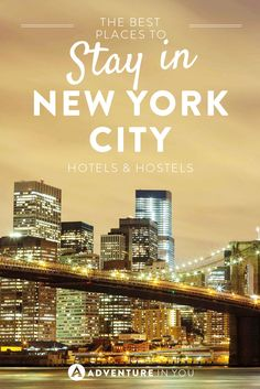Looking for where to stay during your trip to New York City? Check out our guide on the best hostels and hotels