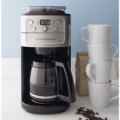 My kids bought this for me! Absolutely love it!!! Cuisinart® Grind and Brew 12 Cup Coffee Maker in Coffee Makers | Crate and Barrel