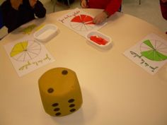 Petite Section, Math Fractions, French Lessons, Preschool Activities, Art School, Montessori, Education, Projects, Diy