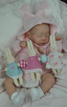 ~Bespoke Babies~'Quinlynn' Laura Lee Eagles Reborn Baby Girl~Tummy Plate~
