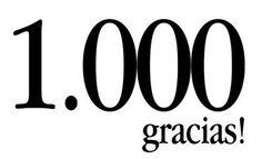 ¡Gracias a nuestros último mil seguidores de facebook, en una semana!