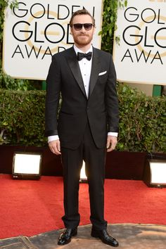 Michael Fassbender-Globos de Oro 2014