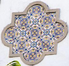 Azulejos antigos no Rio de Janeiro: Tijuca IV - rua Visconde de Cairú