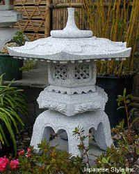 granite lantern, Japanese lantern, stone lantern