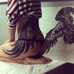 Sexy Lower Back Tattoo Design
