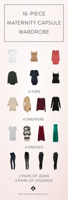 maternity capsule wardrobe - I highly recommend!