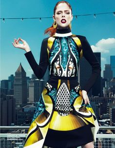 Harper's Bazaar China Collections F/W 2013.14   Coco Rocha by Yin Chao