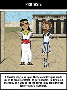 an analysis of the character oedipus in oedipus rex a play by sophocles Discuss the chorus in sophocles' play oedipus the king under the following  headings:  2010 discuss the role and character of jocasta in oedipus the king.