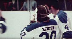 Cam Newton and Dave Burrows. Cam Newton, Pittsburgh Penguins Hockey, Vancouver Canucks, Hockey Teams, Nhl