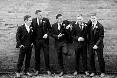 Groomsmen at The Millhouse Slane by The Fennells Photography and Film Husband and wife team Mark & Fiona Fennell Groomsmen, Real Weddings, Husband, Wedding Photography, Film, Wedding Shot, Movie, Film Stock, Cinema