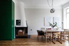 Tegnérlunden 14, sno stilen och grönt kök