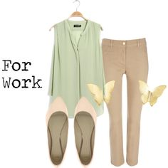 Work - 3 by katemo17 on Polyvore