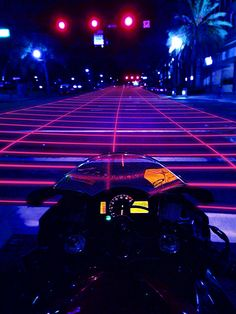 Dedicated to the synthwave music scene, a revisionist music style of synthesizers and pulsing beats, and the retrofuturist aesthetic of.