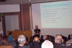 "Volunteer Services Coordinator - Alison Reynolds - ""Volunteering at Leicester's Hopsitals"" 22/01/15"