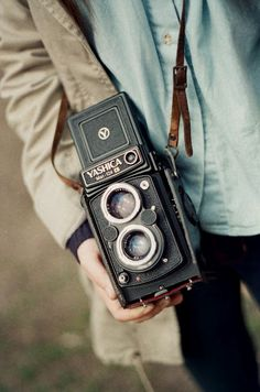Yashica Mat 124G - Just bought one of these at a yard sale.  Love this old style camera.