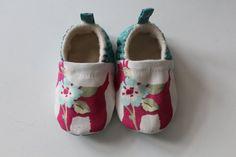 soft sole slip on baby shoe with Scottie dog print by DottyRobin