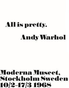 Mode & Maison: Andy Warhol posters