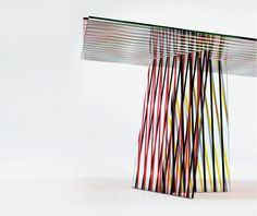 'Crossing' table by Patricia Urquiola for Glas Italia Dailytonic