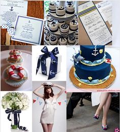 Love Nautical Themed Weddings