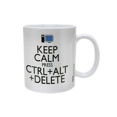 Mug Keep Calm Ctrl Alt Delete