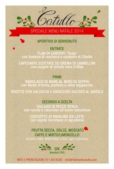 Pranto di Natale 2014 Ristoranti Torino #Natale2014 #Torino