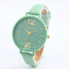 cc3ab377f38 Women Leather Analog Quartz Wrist Watch 2017 Luxury Brand. Reloj Pulsera  MujerReloj ...