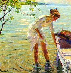 Impressioni Artistiche : ~ Cucuel Edward ~ American Impressionist 1875-1954