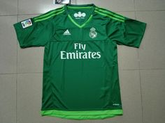 Real Madrid 15/16 Goalie Jersey