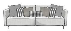 organizando almofadas no sofa - Pesquisa Google