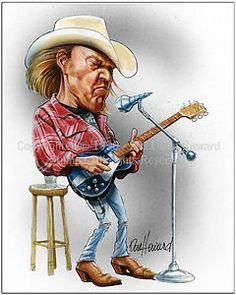 Neil Young Caricature☆☆