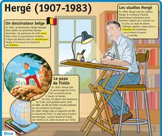 Fiche exposés : Hergé (1907-1983)